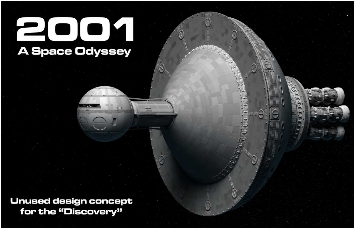 Unused Space Odyssey Design Concept, Discovery Bowl Version