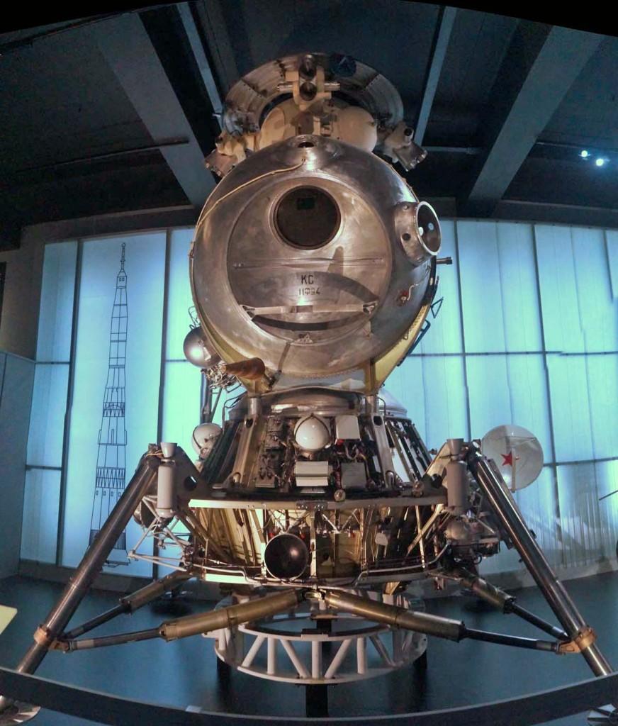 Soviet LK moon lander
