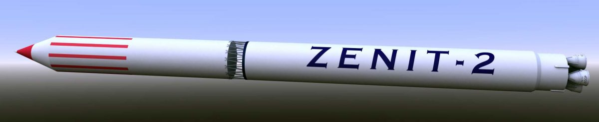 First renders of the new project, Zenit 2 rocket