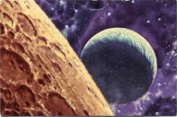 View from the Moon, a Sokolov