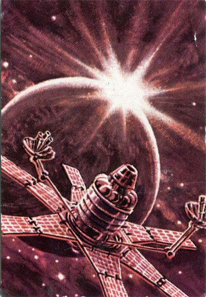 Molniya Satellite - A. Sokolov