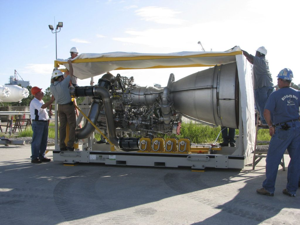 Aerojet AJ26 rocket engine, originally an NK-33