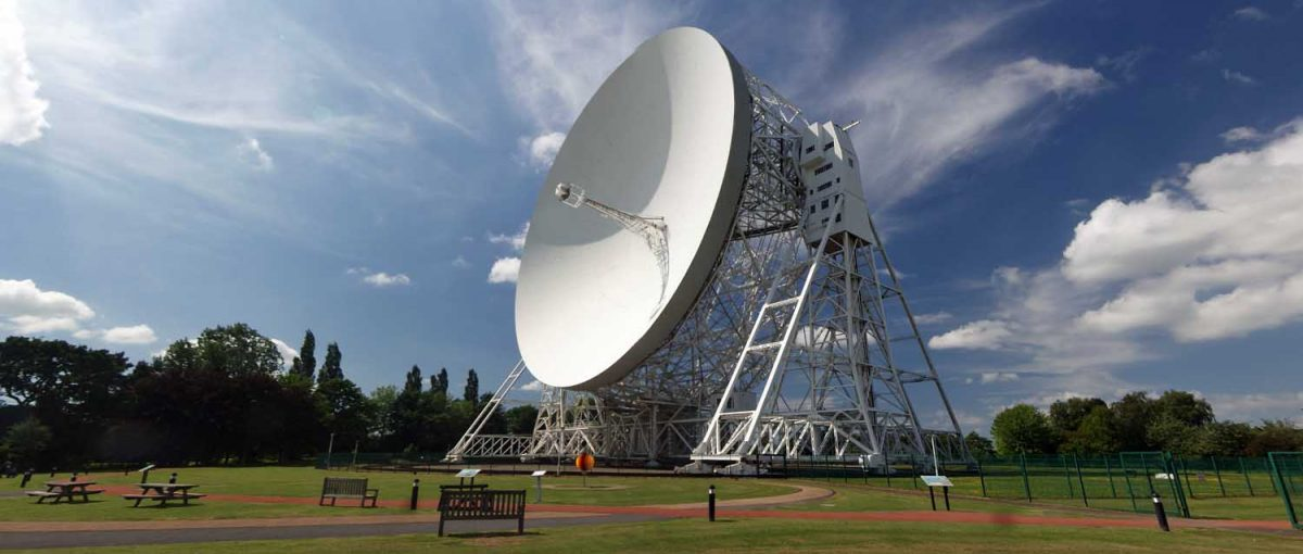 Lovell Radio Telescope at Jodrell Bank, Part 1.