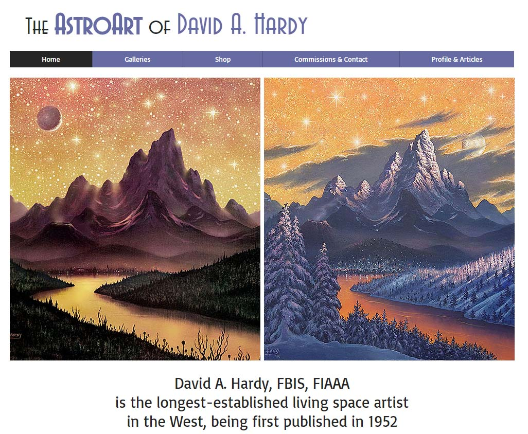 David A Hardy Website