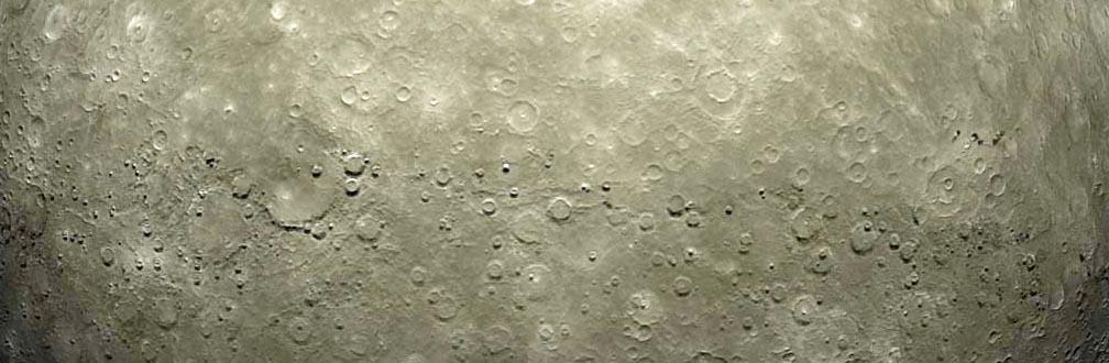 CGI Planet Mercury, done in Lightwave 3D