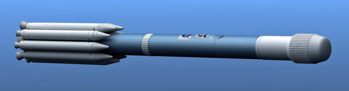 Current Work In Progress, Delta II rocket
