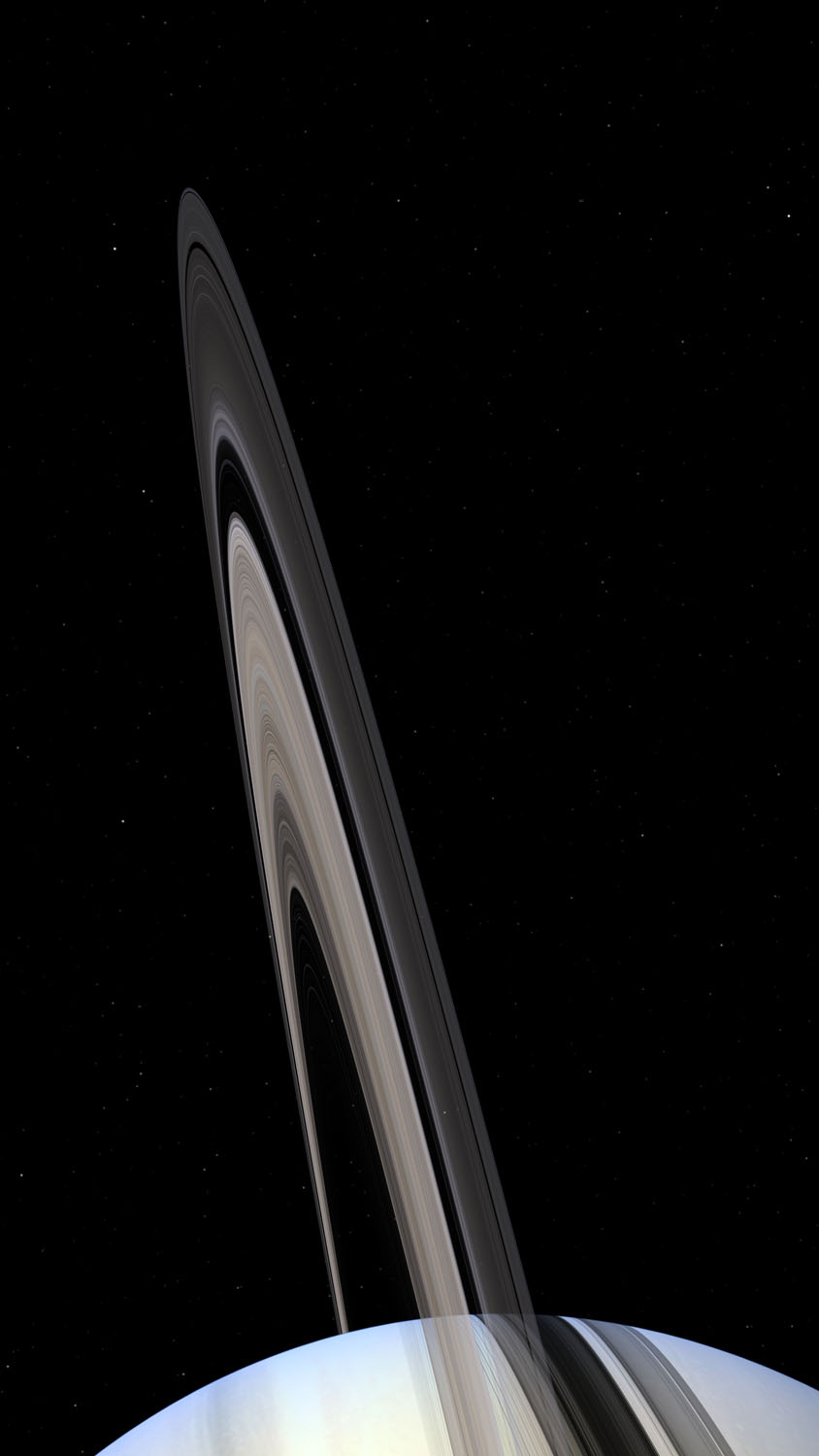 Saturn and Ring System