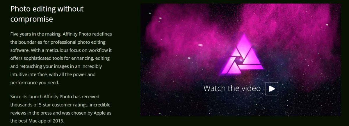 Affinity Banner