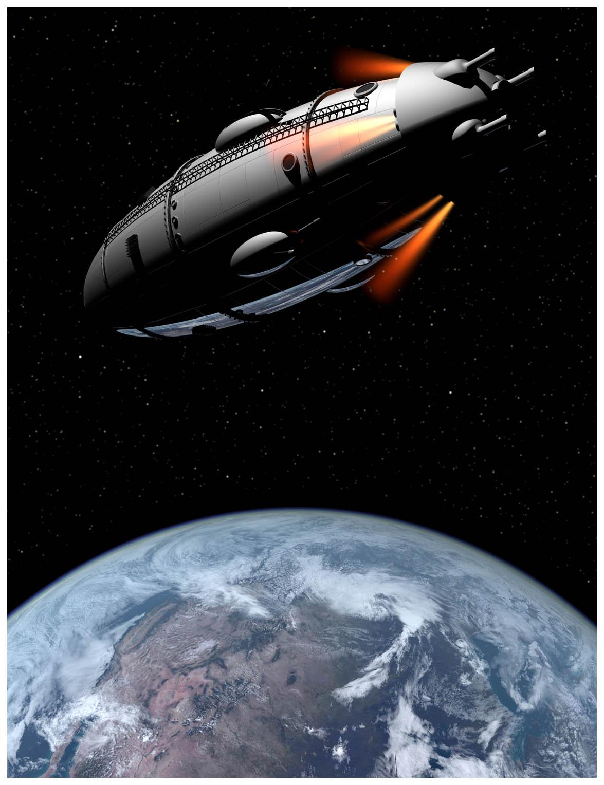 The Satellite, Buck Rogers Rocket