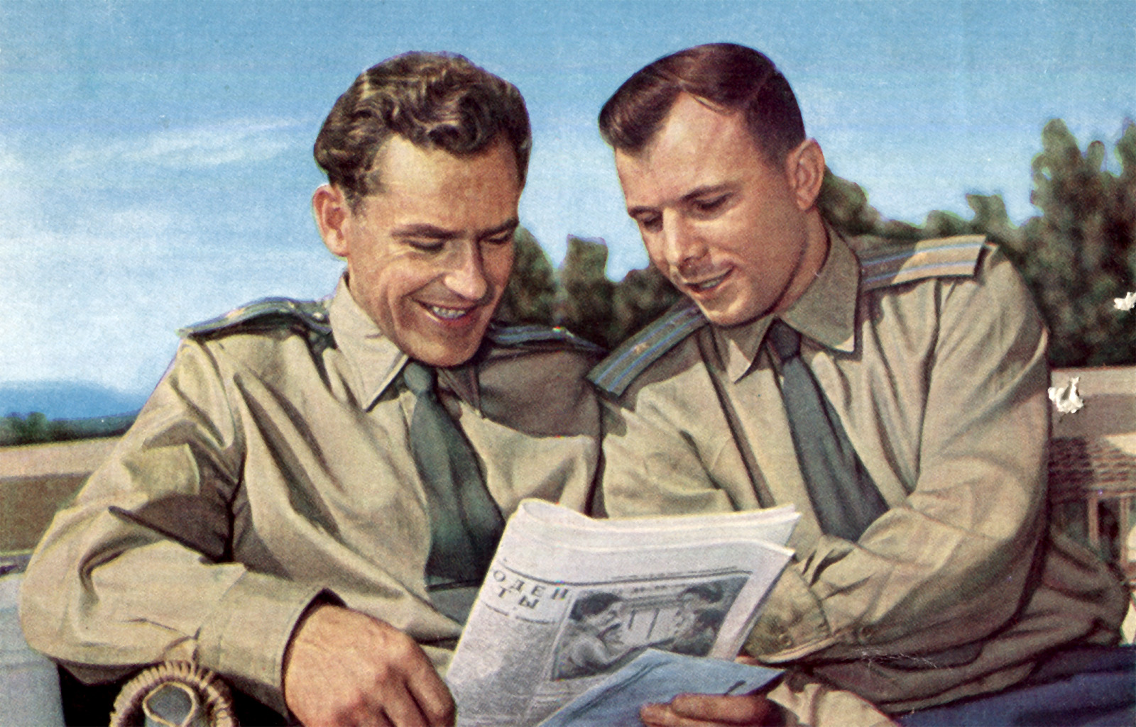 Titov and Gagarin