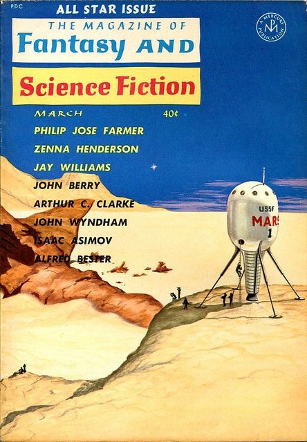Magazine of F and SF, March 1961