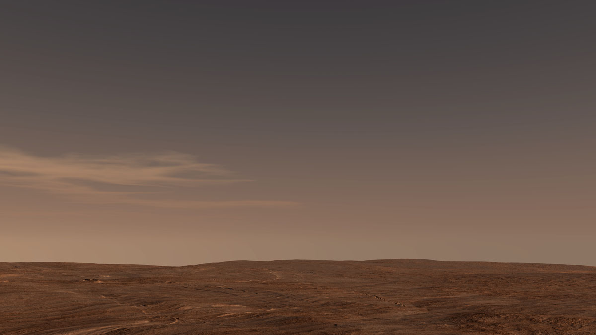 Mars terrain test