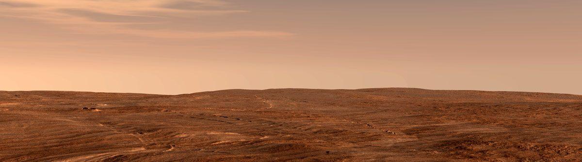 Vue scenes of Mars