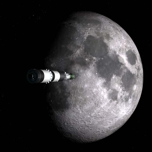 L3 approaches the Moon
