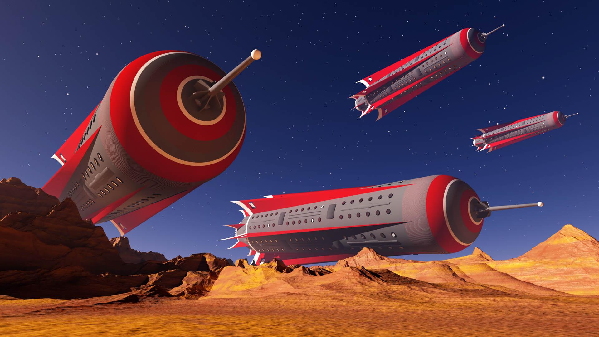 The Mars Fleet Assembles`