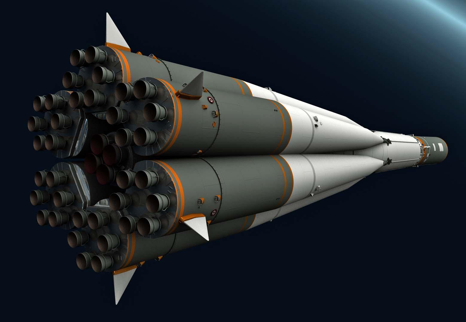 Early kitbash of the Soyuz Yard - Rear