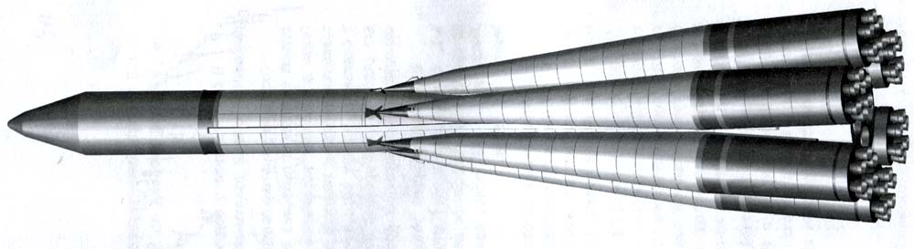 Nuclear Soyuz – ЖРД / ЯРД, an unflown design