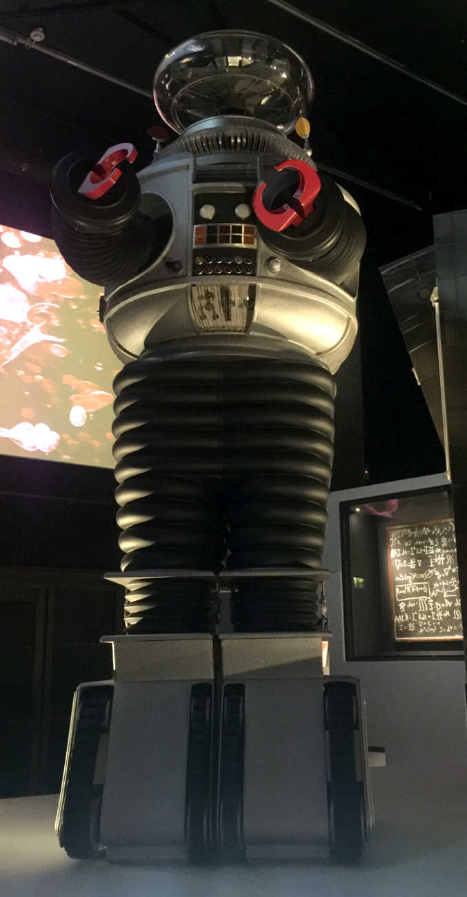 "The robot from ""Lost in Space"""