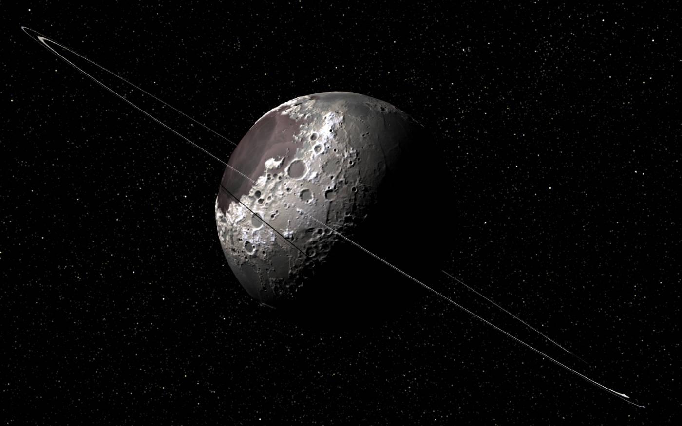 Ringed centaur asteroid