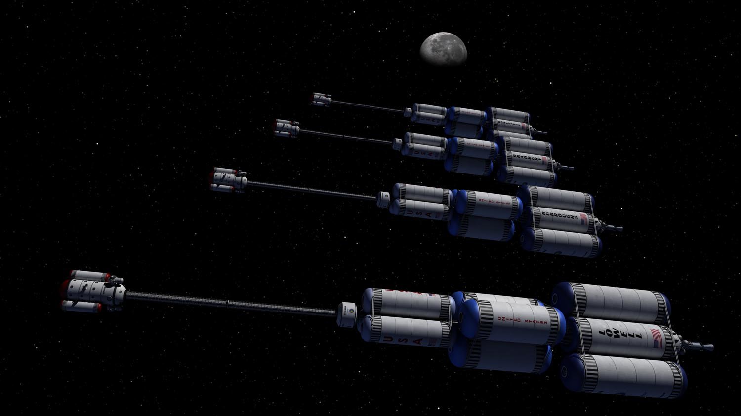 Fleet of four Hyperion's