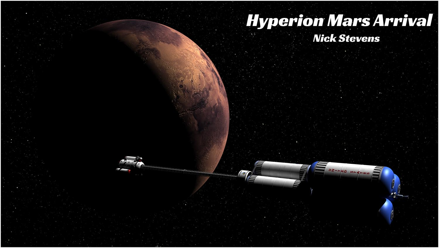 Hyperion arrives at Mars