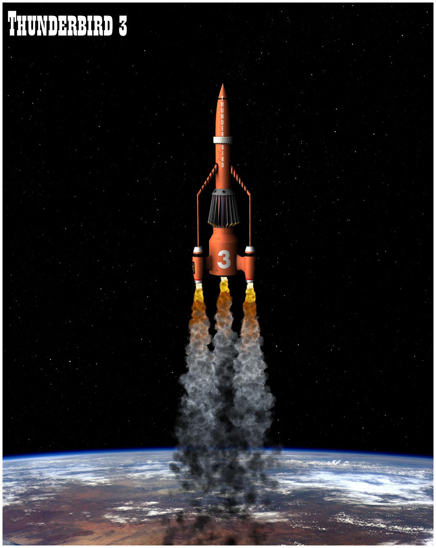 Thunderbird 3 ascending