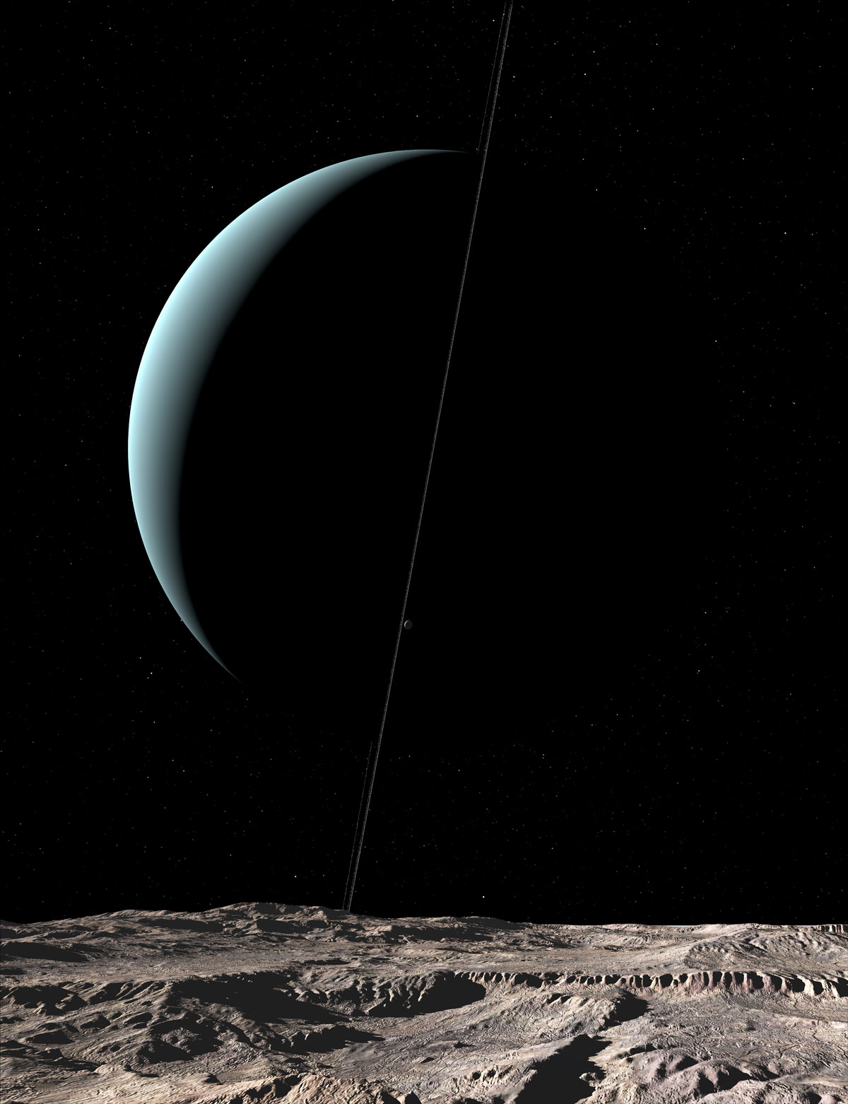 Uranus from Arielh