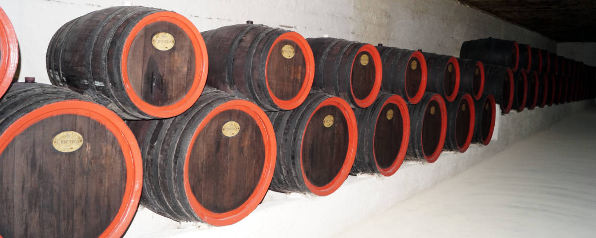 Cricova wine casks