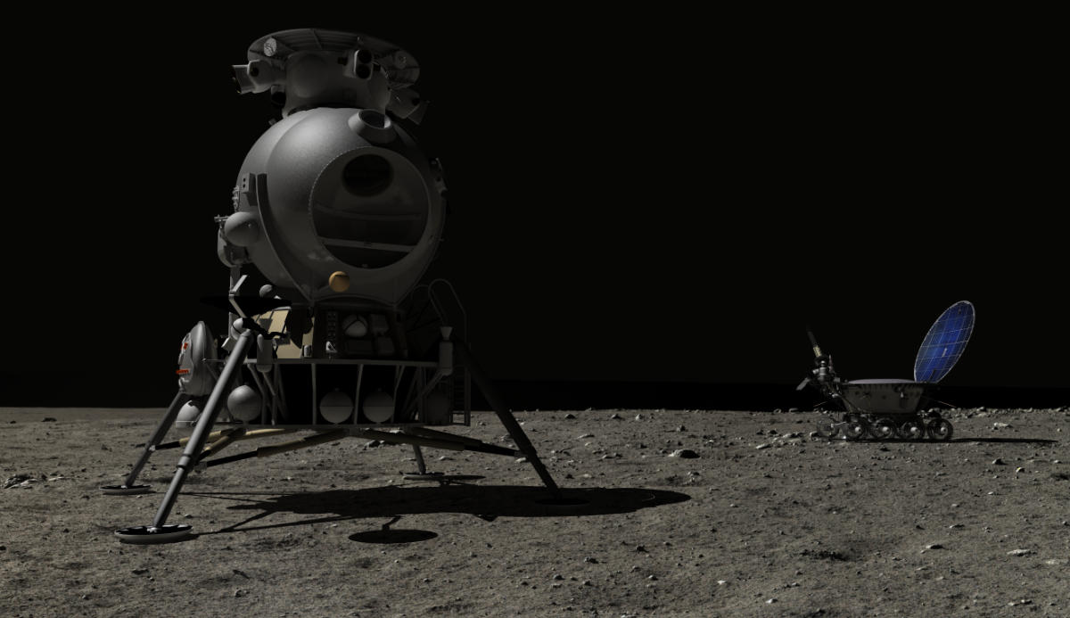 Lunokhod and Soviet L K Lander
