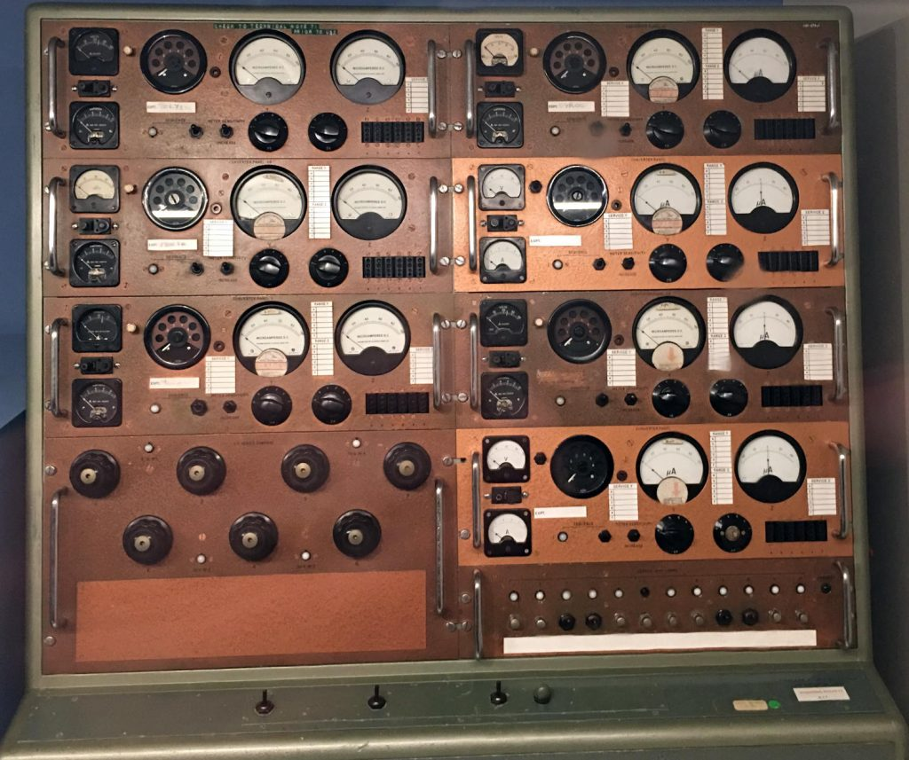 Control panel for Skylark