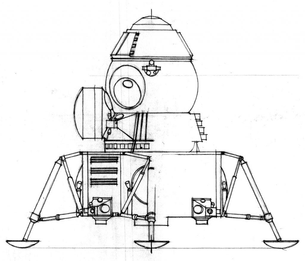 Lunar Lander Sketch