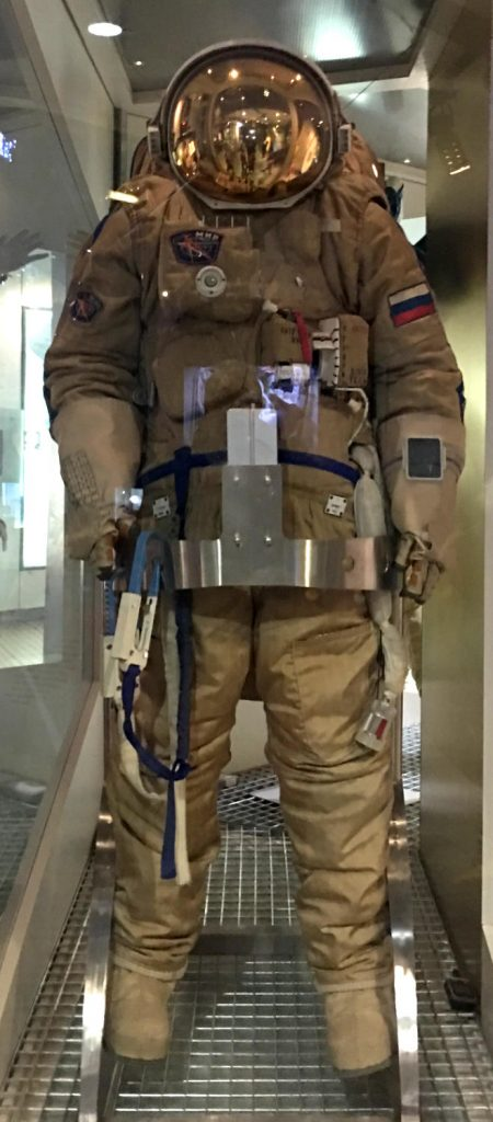 """Orlan"" Russian space suit"