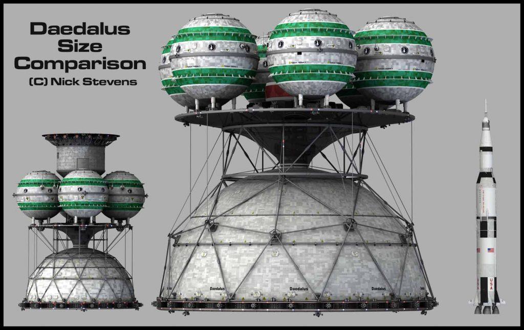 Daedalus BIS Starship