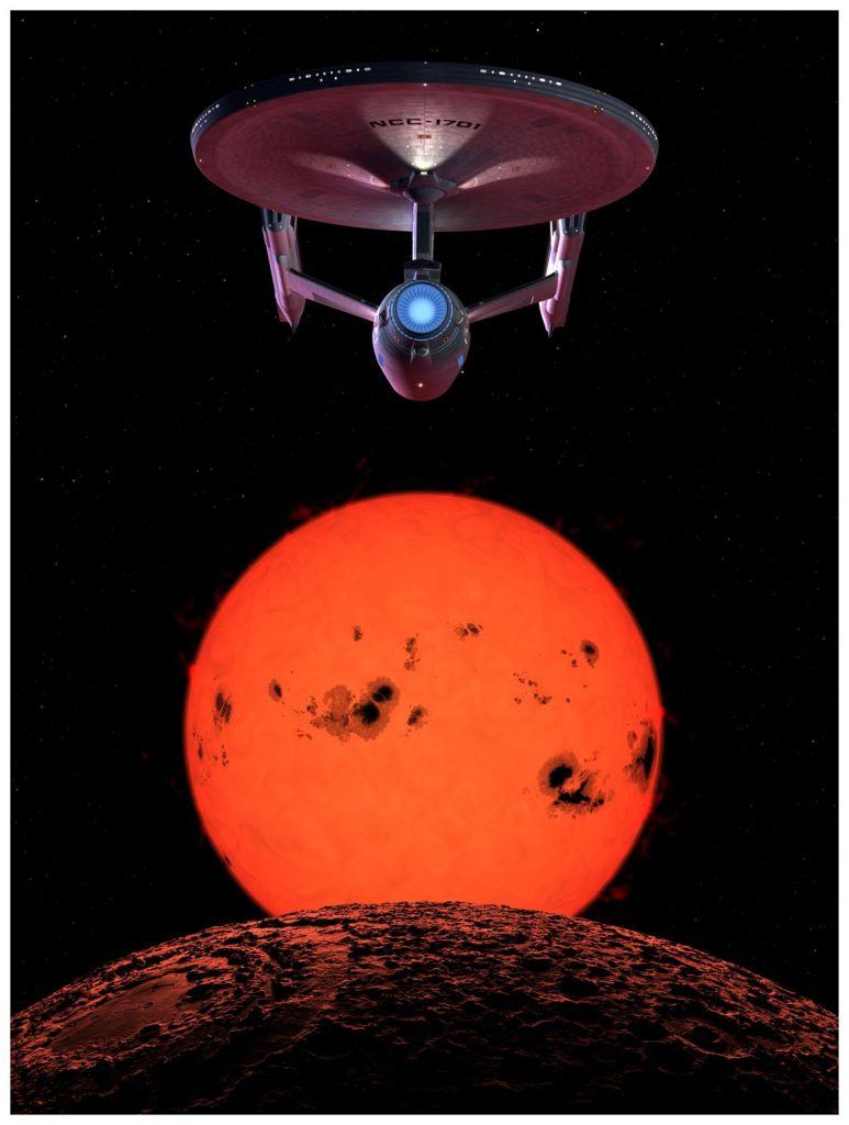 Enterprise at Barnard's Star