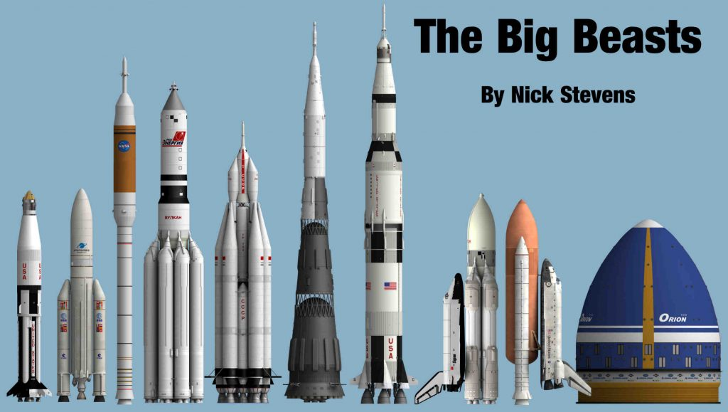 Spacecraft: The Big Beasts!