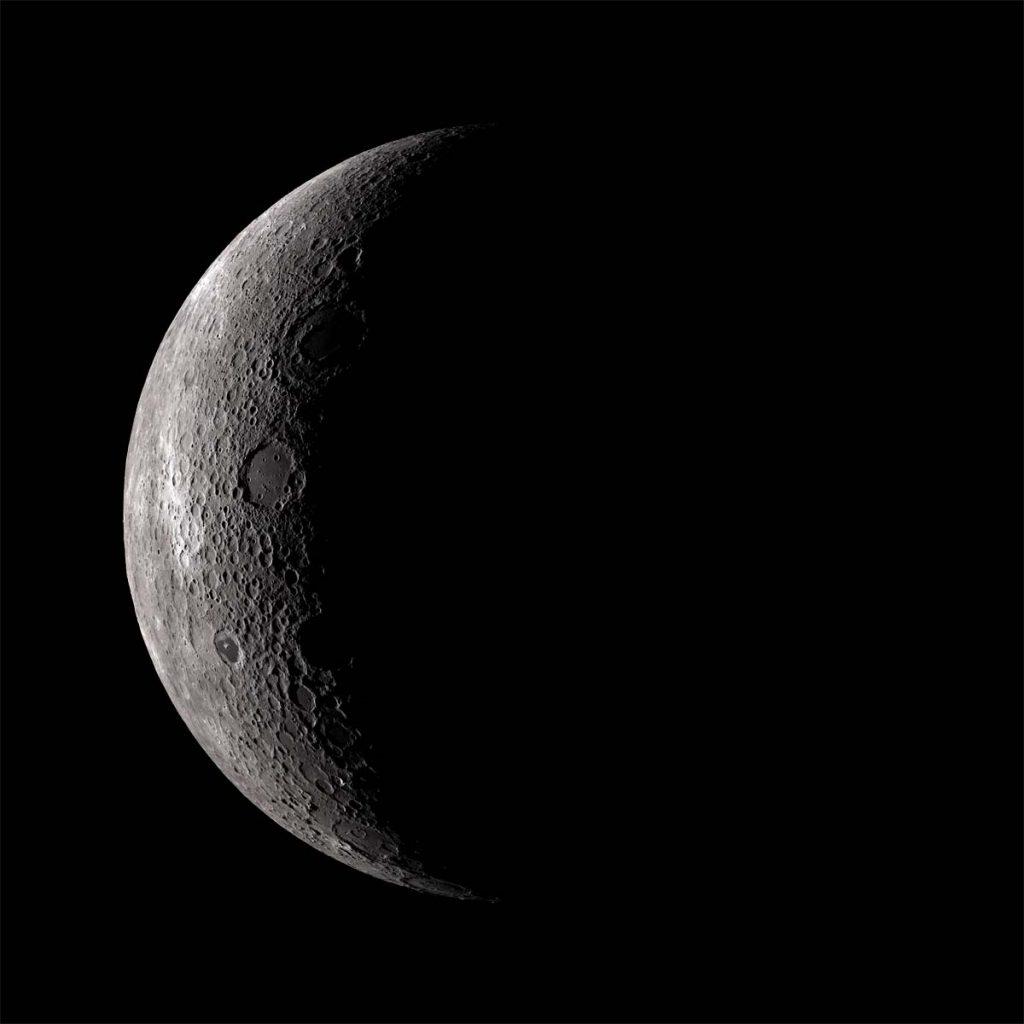Crescent Lunar Farside.