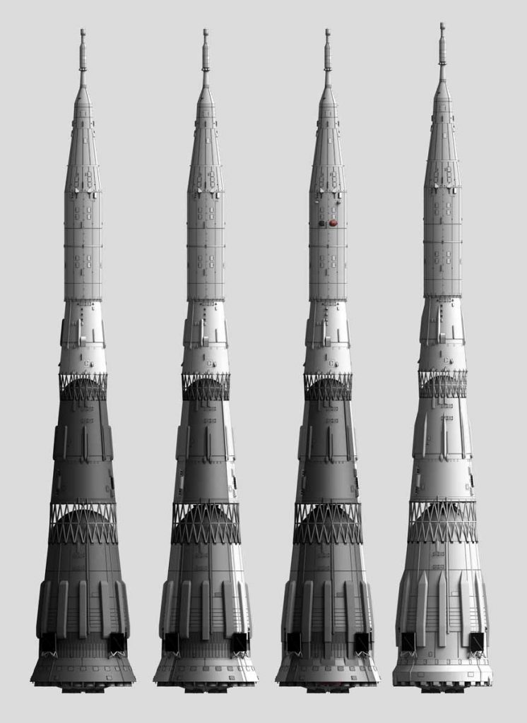 N-1 Rocket, All flown Variants