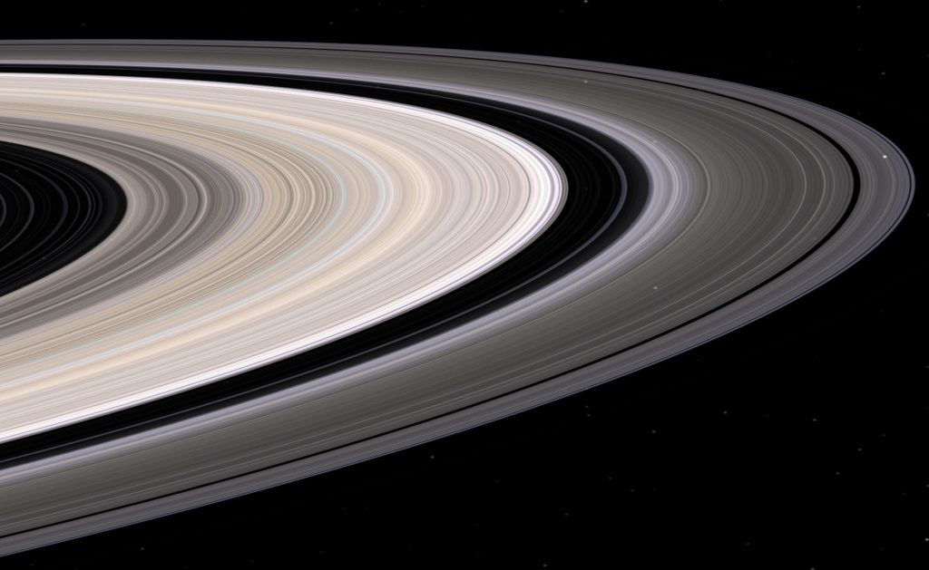 Saturn's Rings, Detail