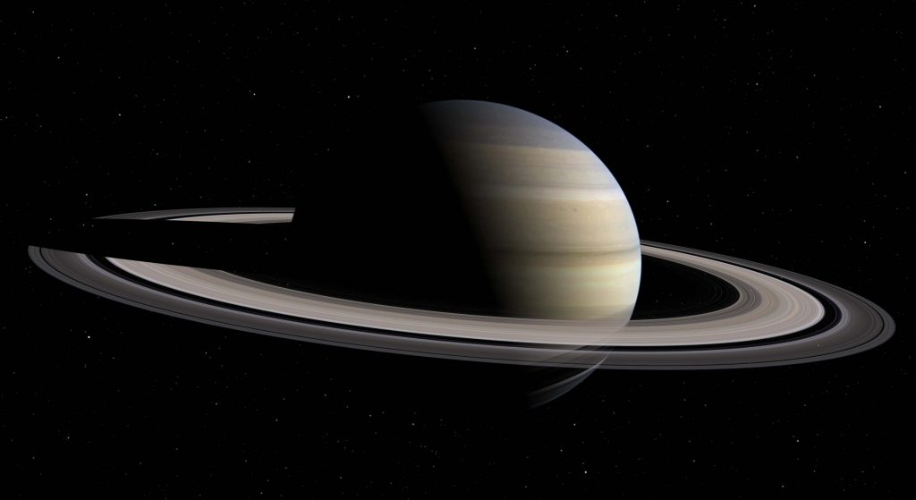 Saturn, still image from the video...
