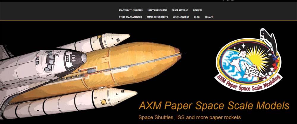 AXM Paper Models