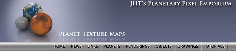 JHT's Pixel Planet Maps
