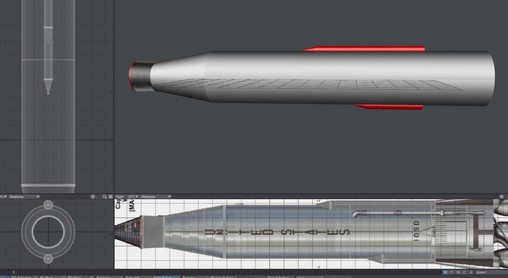 Detailing the rocket 1