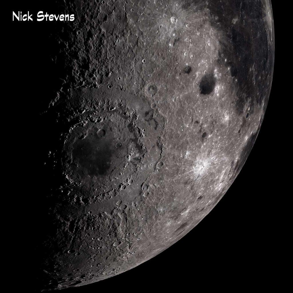CGI Moon, Mare Orientale Region