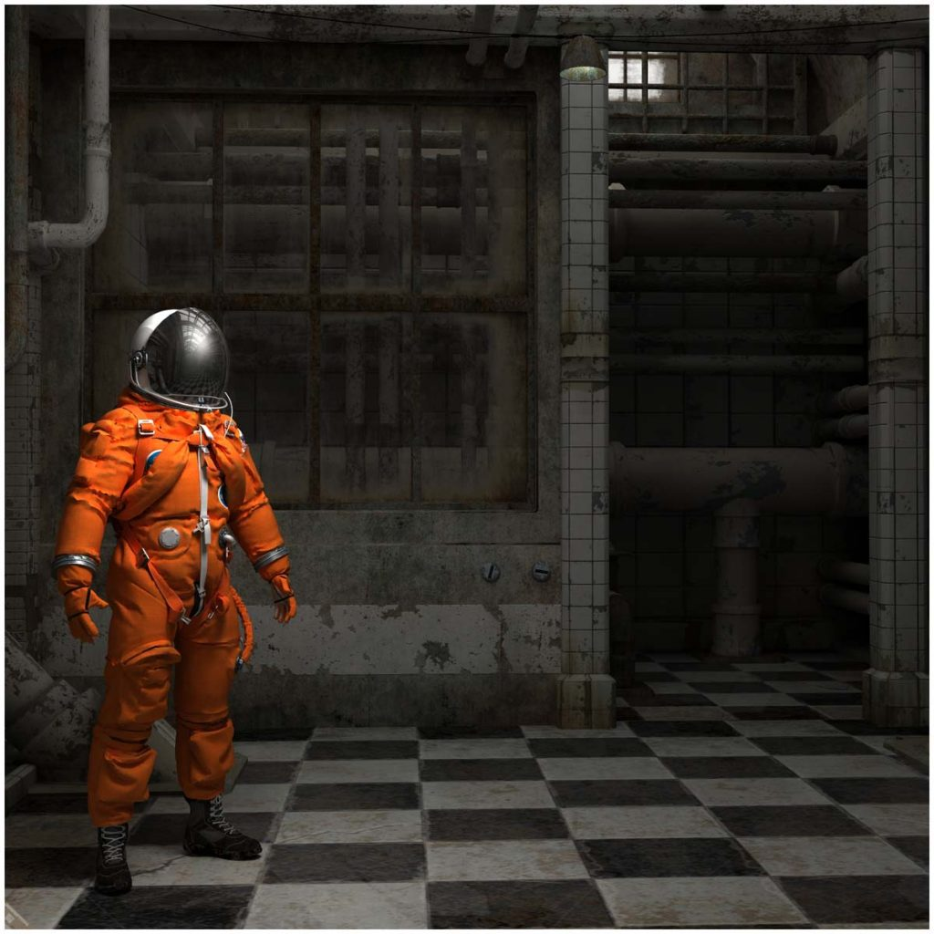 Industrial Astronaut