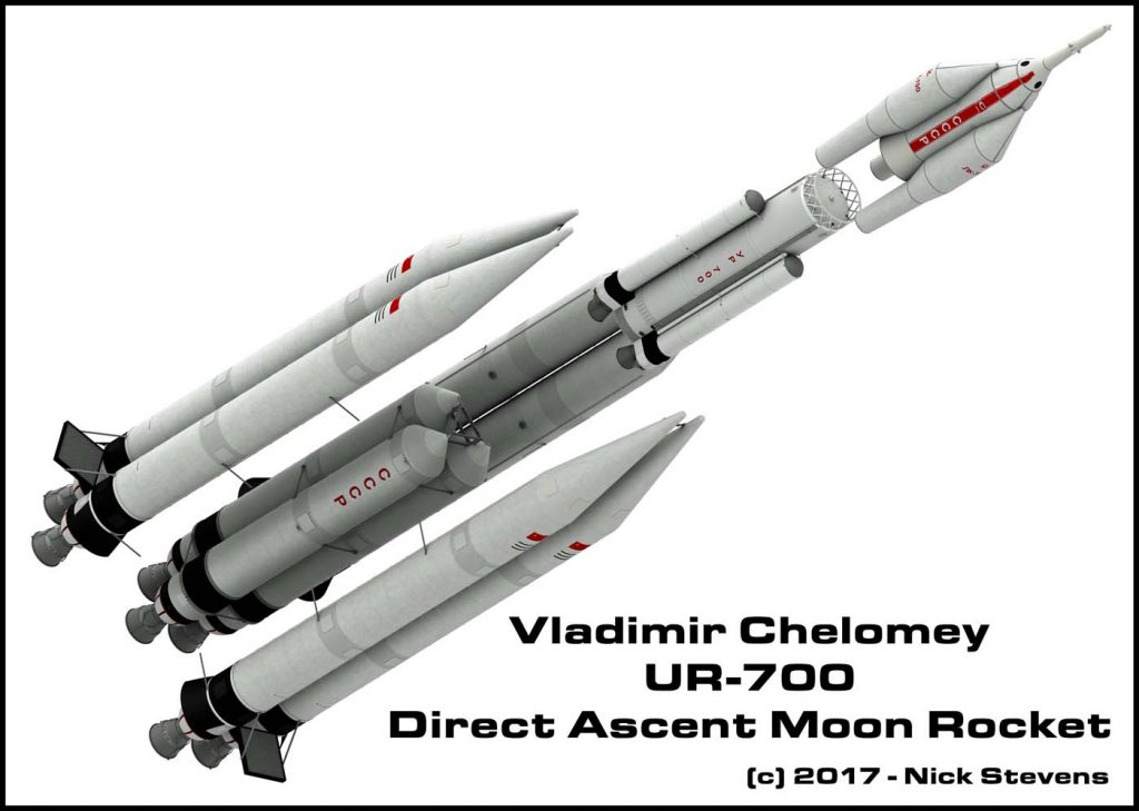 UR-700 Moon Rocket