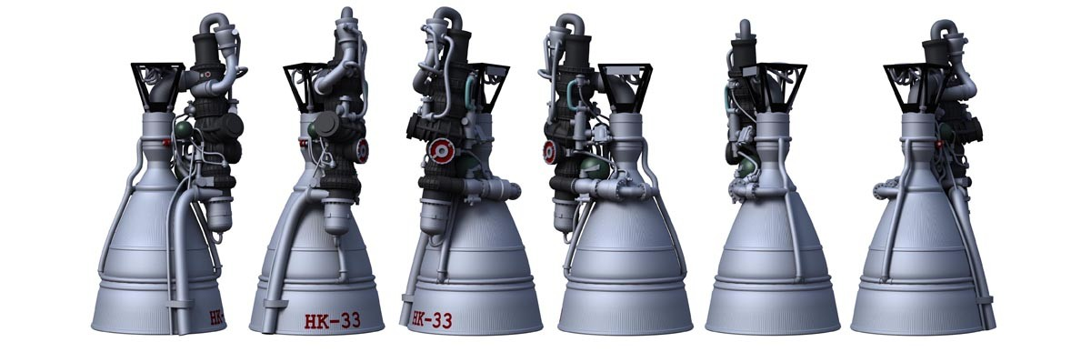 NK-33 Rocket Engines