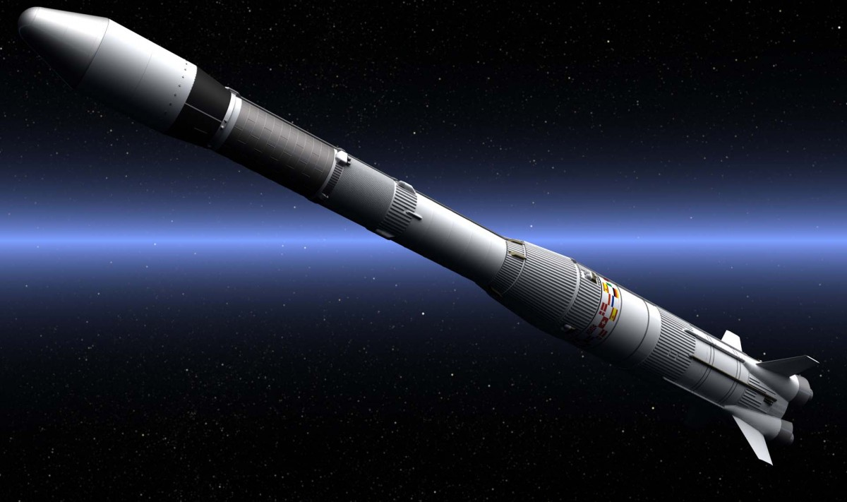 Ariane 1, texturing continues.