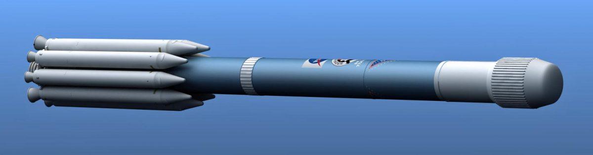 CGI Work in Progress, Delta II rocket