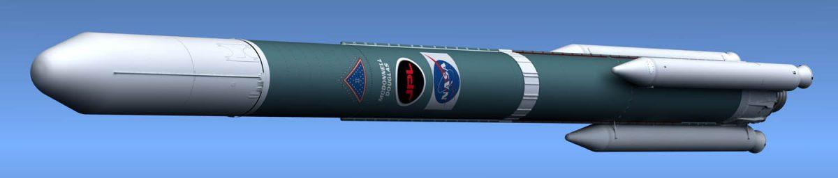 Delta II rocket complete!