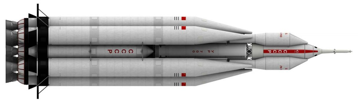 UR-700 Launch version finished